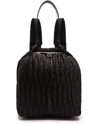 The Row | Backpack 11 Quilted-nylon Backback | Lyst