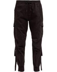 Maharishi Cargo Cotton Twill Track Pants