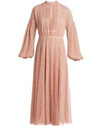 Giambattista Valli - Circle Macramé Lace Long Dress - Lyst