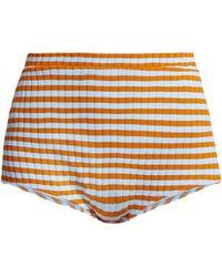 Solid & Striped - Jamie High Rise Bikini Bottoms - Lyst