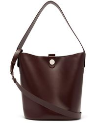Sophie Hulme - Swing Large Leather Bucket Bag - Lyst