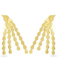 Sophia Kokosalaki - Hail Comet Gold-plated Earrings - Lyst
