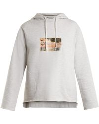 Golden Goose Deluxe Brand - Sirrah Graphic Print Hooded Sweatshirt - Lyst