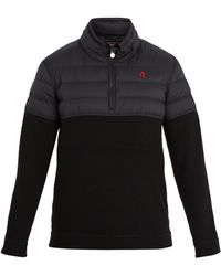 Perfect Moment   Après Half-zip Nylon And Wool Sweater   Lyst