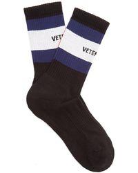 Vetements - X Tommy Hilfiger Striped Socks - Lyst