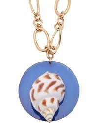 Rebecca de Ravenel - Pamina 24kt Gold Plated Earrings - Lyst