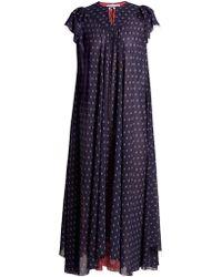 Balenciaga   Flou Dress   Lyst
