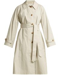 Proenza Schouler - Single-breasted Cotton Trench Coat - Lyst