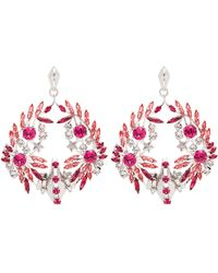 Givenchy - Crystal-embellished Earrings - Lyst