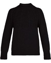 Inis Meáin - Cable Knit Wool Jumper - Lyst