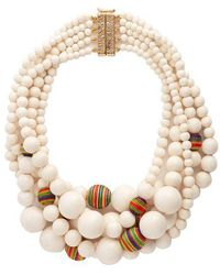 Rosantica By Michela Panero - Arlecchino Multi-strand Beaded Necklace - Lyst