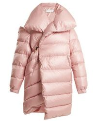 Marques'Almeida - Oversized Asymmetric Quilted Coat - Lyst