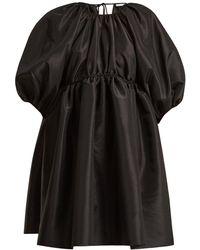Cecile Bahnsen - Ava Puff-sleeved Taffeta Dress - Lyst