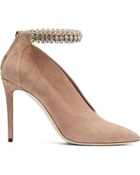 Jimmy Choo - Lux 100 Suede Court Shoes - Lyst