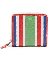 Balenciaga | Bazar Zip-around Leather Wallet | Lyst