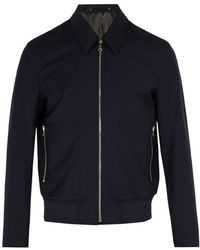 Paul Smith - Wool Bomber Jacket - Lyst