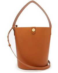 Sophie Hulme - Large Swing Leather Bucket Bag - Lyst