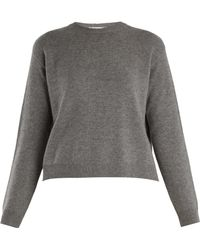 Valentino - Open Back Cashmere Sweater - Lyst