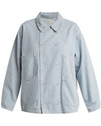 Chimala | Oversized Patch-pocket Denim Jacket | Lyst