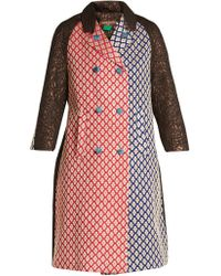 Duro Olowu - Patchwork Brocade Double Breasted Coat - Lyst