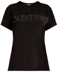 Helmut Lang - Tom Of England-print Cotton T-shirt - Lyst