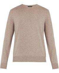 Allude - Crew Neck Cashmere Sweater - Lyst