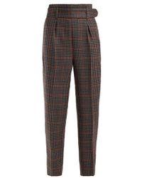 Erdem - Nelle Wool Trousers - Lyst