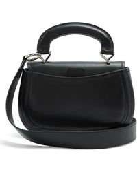 Lemaire - Pumpkin Vegetable Tanned Leather Bag - Lyst