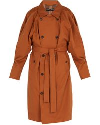 Y. Project - Double Front Trench Coat - Lyst