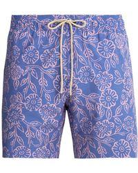Faherty Brand - Beacon Poppy Print Swim Shorts - Lyst
