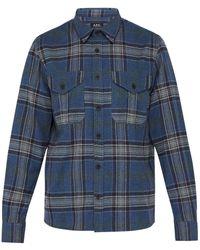 A.P.C. - Breton Surchemise Shirt - Lyst