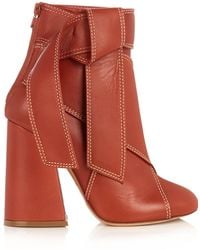 Ellery - Susanna Leather Ankle Boots - Lyst