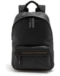 Lanvin - Smooth Grained-leather Backpack - Lyst