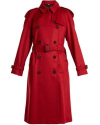 Burberry - Eastheath Double-breasted Cashmere Coat - Lyst