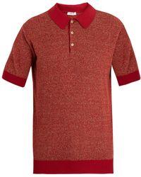 Boglioli - Point-collar Knit Polo Shirt - Lyst