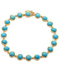 Irene Neuwirth - 18kt Gold & Turquoise Bracelet - Lyst