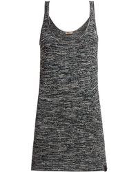 Bottega Veneta - Extra Long Chenille Knitted Tank Top - Lyst
