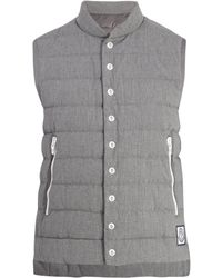Moncler Gamme Bleu - Quilted Down Cotton Gilet - Lyst