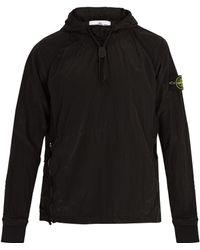 Stone Island - Lightweight Hooded Jacket - Lyst