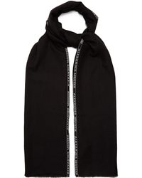 Alexander McQueen | Logo-jacquard Cashmere-blend Scarf | Lyst