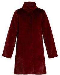 Velvet By Graham & Spencer - Mina Reversible Faux-fur Coat - Lyst