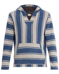Faherty Brand - Terry Baja Striped Cotton Poncho - Lyst