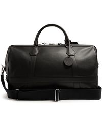 Dunhill - Boston Leather Holdall - Lyst