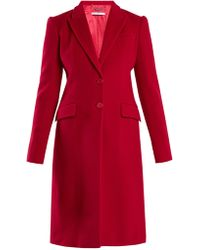Givenchy - Single-breasted Wool-blend Coat - Lyst