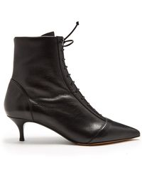 Tabitha Simmons - Emmet Lace Up Ankle Boots - Lyst