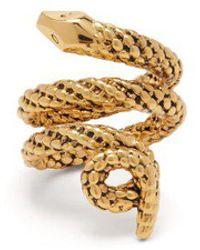 Aurelie Bidermann - Tao Gold-plated Brass Ring - Lyst