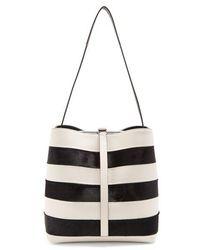 Proenza Schouler - Frame Striped Shoulder-bag - Lyst