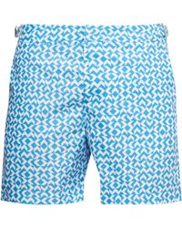 a19d8a212d Orlebar Brown Bulldog Gilot Swim Shorts in Blue for Men - Lyst
