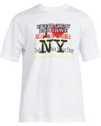 Vetements - New York Tourist Printed Cotton T Shirt - Lyst