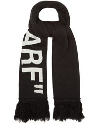 Off-White c/o Virgil Abloh - Quote Scarf - Lyst